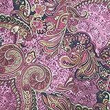 Discover Direct Damast Paisley Hochwertig Bedruckte