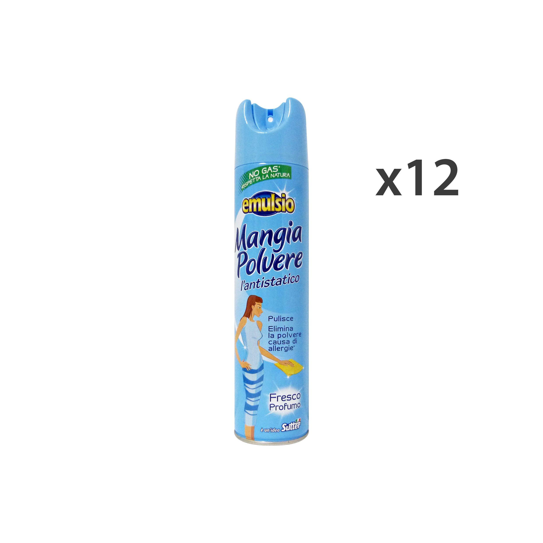 Set 12 MANGIAPolvere FRESCO Profumo No-Gas BLU Detergenti casa