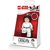 IQ Lego Figurine-Porte Clé-Lumineux-Star Wars-Princess Leia, LGKE109