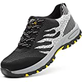 Zapatos de Seguridad para Hombre Zapatillas Zapatos de Mujer Seguridad de Acero Ligeras Calzado de Trabajo para Comodas Unise