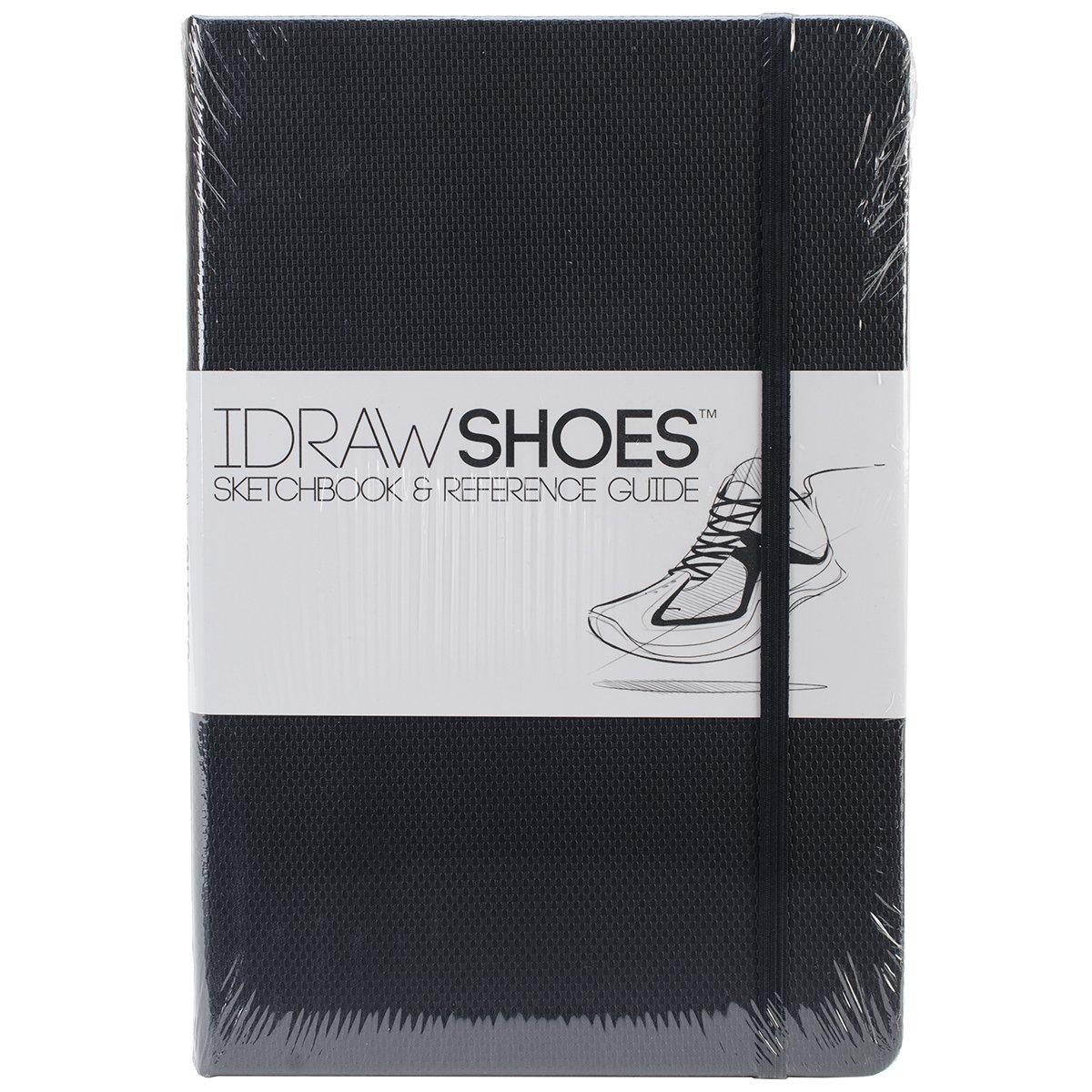Idraw scarpe Sketchbook & Guida di riferimento-nero