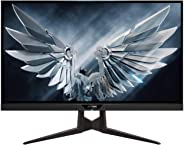 AORUS FI27Q 27 INCH 165Hz QHD 1440P G-Sync Compatible and FreeSync Gaming Monitor, Exclusive Built-in ANC, 2560x1440 Display