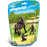 Playmobil 6639 Gorilla With Babies - Multi Color