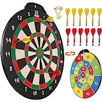 Esjay 45,7 cm Magnetisches Dartscheibenset, sicheres Dartspiel für Kinder, Junge Spielzeug Geschenk für drinnen und…