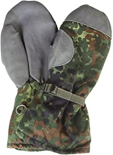 Dutch Holland Army Issue DPM Camo Cold Weather Winter Lined Mitt Mittens