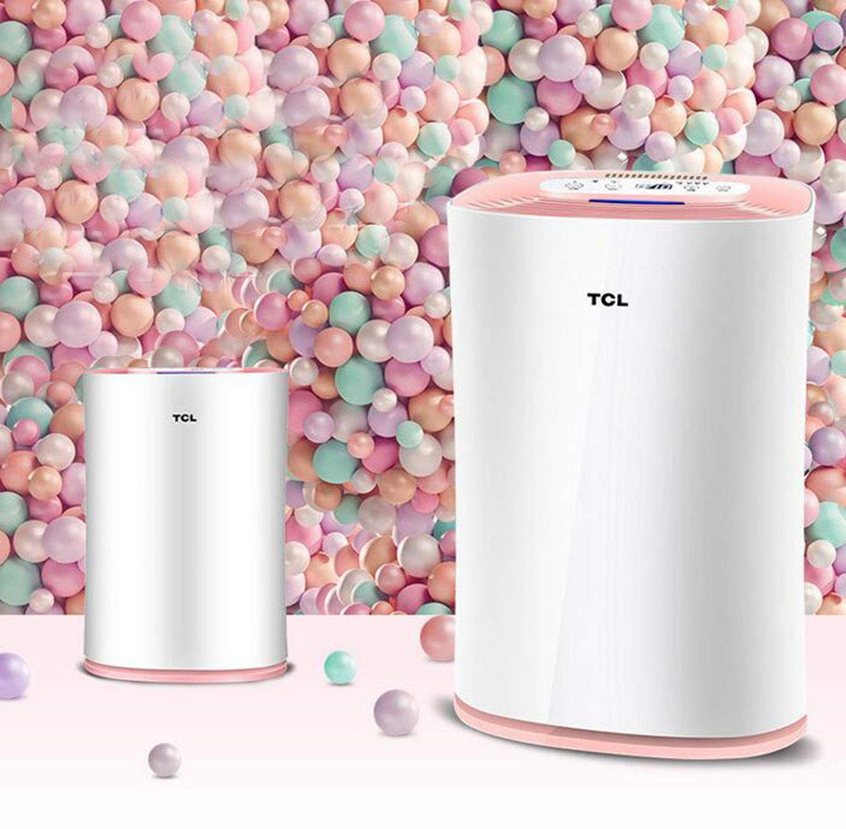 71PSaAwM5jL - TCLTKJ303F-S1 Smart Purifier Household In Addition To Formaldehyde PM2.5 Negative Ion Humidifier