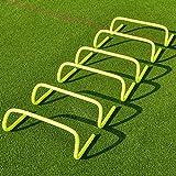 FORZA Speed/Agility Training Hürden (6er-Set) - Multi-Sport Trainingshilfe - wählen Sie Ihre Größe aus