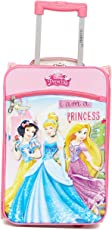Gamme Disney Polyester 17.5-inch Pink Soft Luggage