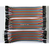 Generic Jumper Wires Male to Male, male to female, female to female, 120 Pieces