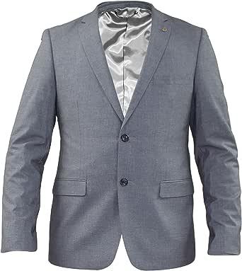 Ex-Branded Mens Formal Slim Fit Jacket Coats Stretch Trouser Pants Suit
