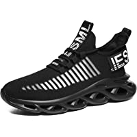 Tvtaop Mens Trainers Running Walking Shoes Fashion Air Sport Sneakers Outdoor Athletic Gym Fitness Workout Jogging…