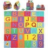 StillCool Tappeto Puzzle per Bambini, 36 Pezzi Quadrati 15cm*15cm Tappetini Puzzle da Gioco Pieghevole Multicolore 26…