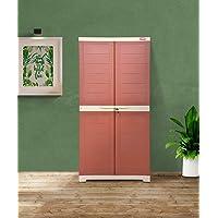 Alfa 2 Plastic Cabinet for Storage | Space Organizer | Shelves | Cupboard | Living Room | Kids | Multipurpose for Home…