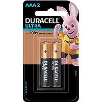 Duracell Ultra Alkaline AAA Battery, 2 Pieces