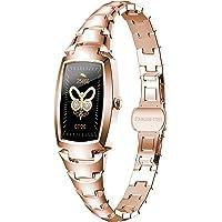 Smartwatch Damen,Phipuds 1.08 Zoll Touch-Farbdisplay Fitness Armbanduhr mit Pulsuhr Fitness Tracker IP67 Wasserdicht…