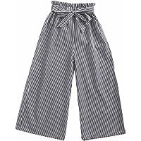 Sanlutoz Mode Bande Filles Un Pantalon Enfants Coton Haleter Décontractée Vêtements