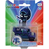 Pj Masks Single Pack Diecast Night Ninja Bus for Kids, Age 3 to 8 Years