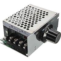 xcluma 4000W 220V Ac Scr Voltage Regulator Dimmer Electric Motor Speed Controller
