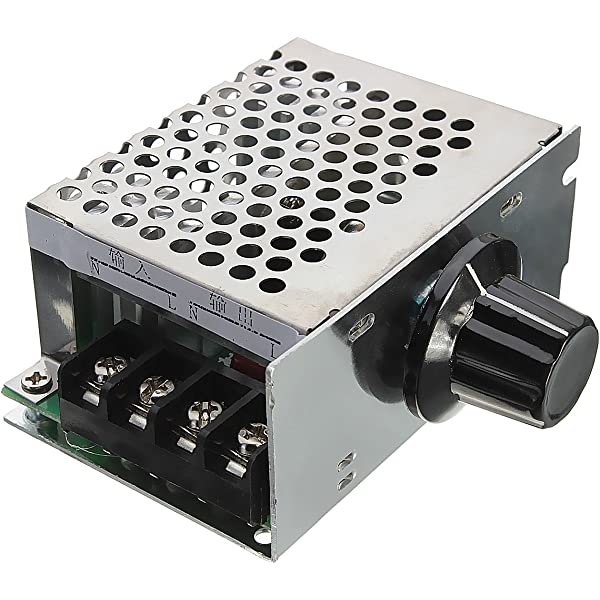 2000W AC 50-220V 25A PWM Voltage Regulator Adjustable Motor Speed Contr BT/_ ITS