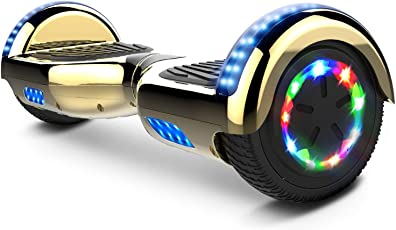 COLORWAY Elektroscooter 6.5 Zoll 2 x 350W Smart LED Self-Balance E-Skateboard