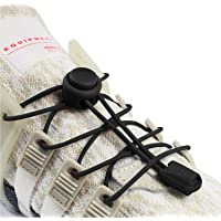 INMAKER No Tie Laces for Adults and Kids, Elastic Shoe Laces for Trainers, Round Shoelaces