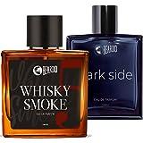 Beardo Whisky Smoke and Dark Side EDP Perfume for Men | EAU DE PARFUM | Strong & Long Lasting| Ideal Gift for Men (100ML) - P