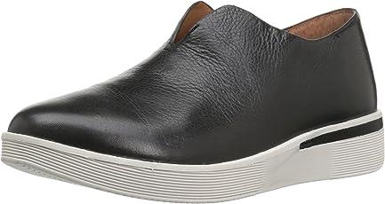 Gentle Souls Women's Hanna Platform Slip on Fashion Leather Sneaker