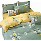 Printed 3d Egyptian cotton bed sheet set