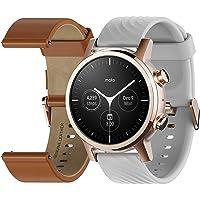 Motorola Moto 360 3a Generazione Smartwatch – Cassa in Acciaio Inox con Cinturino da 20 mm, Batteria per tutto il giorno…