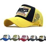 CheChury Gorras Beisbol Deportes Unisex Gorra de Trucker Sombrero de Vintage Gorras de béisbol de Hip Hop Bordada de Malla So