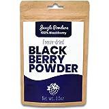 Jungle Powders Blackberry Powder - 100g 100% Natural Non GMO Vegan Friendly Nordic BlackBerry Extract - Freeze Dried Antioxid
