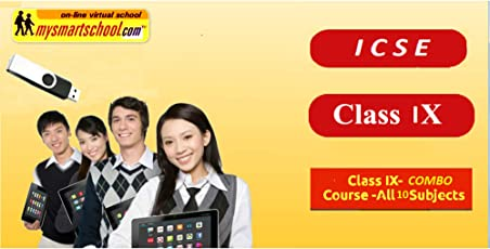 Class-IX-ICSE_USB Pendrive_Course-All-10-subjects-COMBO.Engilsh,Maths,Hindi & Science(Physics,Chemistry & Biology) & Social Science (history,civics & Geography) & EVS.with FUN ,Songs & Plenty of FUNSHEETS.All/each Lessons are Interactive Multimedia/Video Lessons with multiple Questions on the Basis of ICSE Evaluation Blue_Print