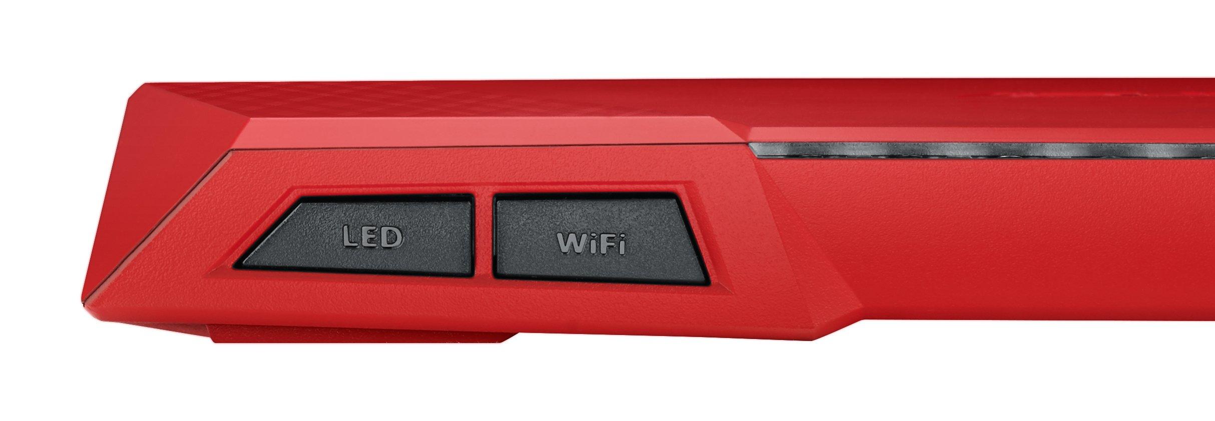 Asus RT-AC87U RED AC2400 Dual-Band Power WLAN Router (802.11 a/b/g/n/ac, Gigabit LAN/WAN, USB 3.0, Print FTP UPnP VPN…
