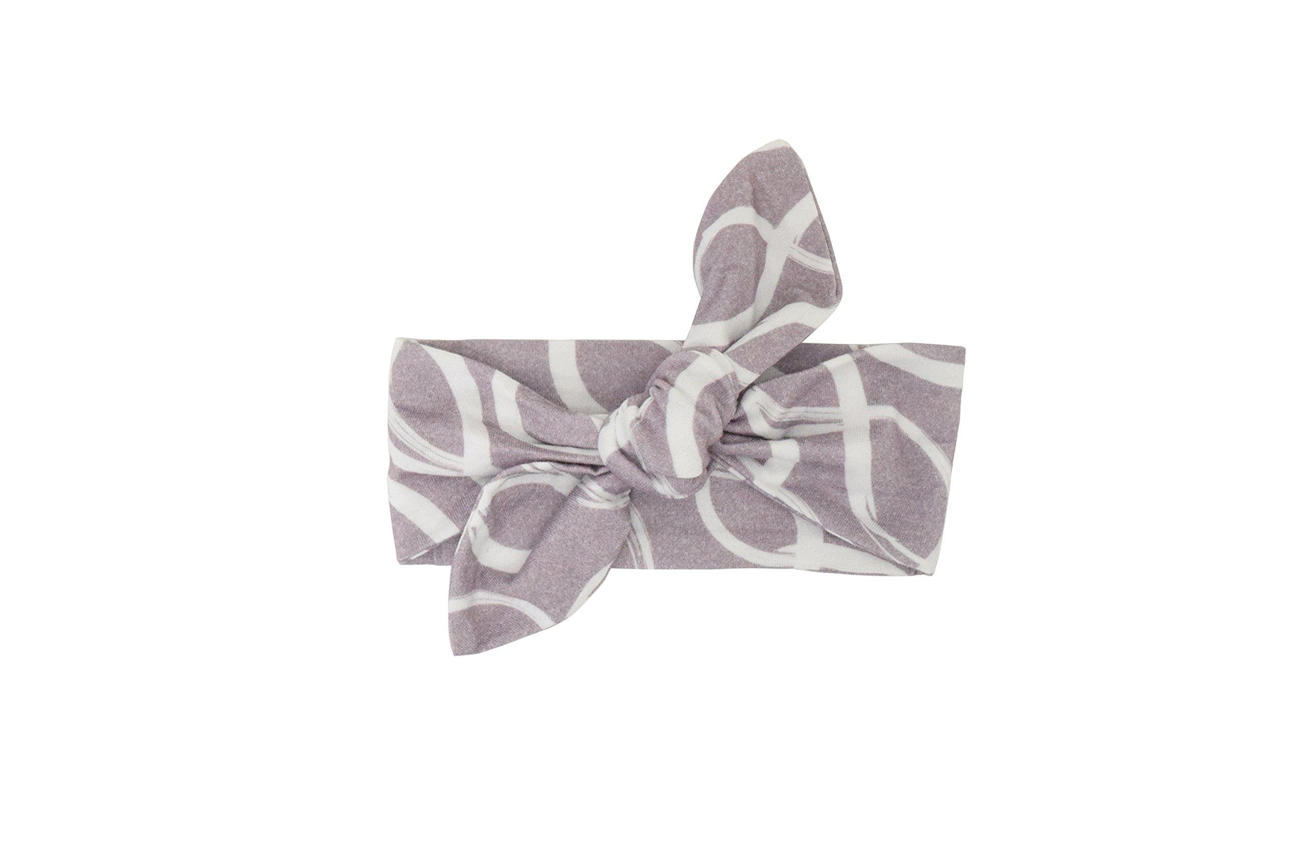 Itzy Ritzy–Parte superior nudo bebé diadema, Platinum Helix