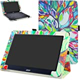 "Acer One 10 S1003 hülle,Mama Mouth Folding Ständer Hülle Case mit Standfunktion für 10.1"" Acer One 10 S1003 Windows 10 Tablet 2016,Love Tree"