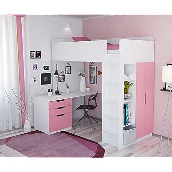 Parisot 2248lsur Set Möbel Kinderzimmer – Mademoiselle