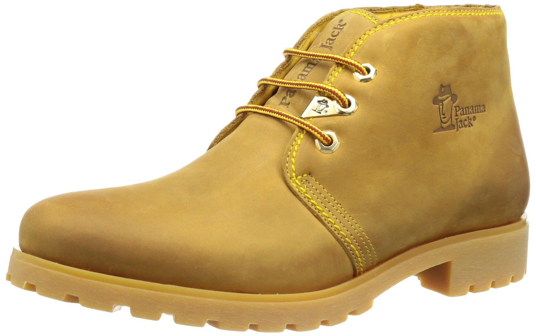 Panama Jack Bota Panama B1, Zapatos de Cordones Brogue Mujer