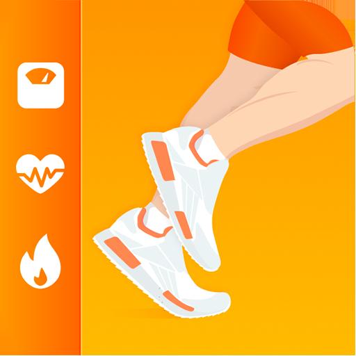 Schrittzähler und Kalorienzähler - Gewichtsverlust