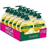Palmolive Vloeibare reiniger voor de handen, zonder melk en honing, reiniging en verzorging voor de handen, 12 flessen à 300