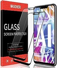 MASCHERI Für Huawei Mate 20 Lite Panzerglas Hartglas Schutzfolie [2 Stück], Full Cover Gehärtetem Glas [Blasenfrei] [Anti-Kratzer] Für Huawei Mate 20 Lite - Schwarz