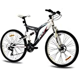 "26"" KCP MOUNTAINBIKE FAHRRAD CHICAGO FSF weiss anthrazit - 66,0 (26 Zoll)"