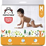 Amazon Brand - Mama Bear Baby Diaper Pants, Medium (M) - 72 Count