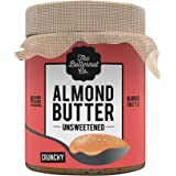 The Butternut Co. Almond Butter Unsweetened, Crunchy 200 gm (No Added Sugar, Vegan, High Protein, Keto)