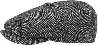 Lierys Coppola a Spina di Pesce Uomo - Made in Italy Cappellino Invernale Berretti da Berretto Lana con Visiera, Fodera Estate/Inverno