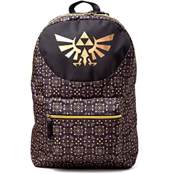Nintendo Legend Of Zelda All-Over Pattern Print Backpack 6a4a2049d0703