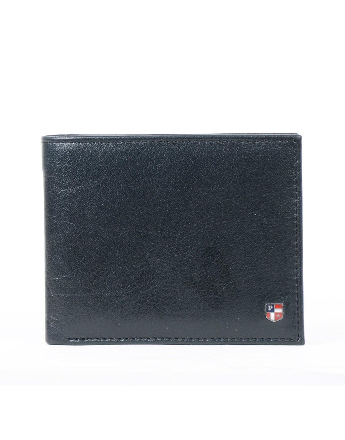 U.S.POLO.ASSN. Black Men's Wallet (USAW0505)