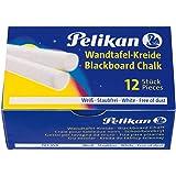 Pelikan 701359 - Pelikan bordkrijt, wit 12 stuks