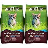 Meat Up Kitten(1-12 months) Dry Cat Food, Ocean Fish, 1.2kg (BUY 1 GET 1 FREE)