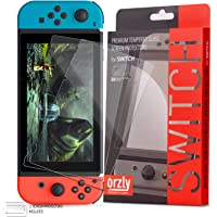 Orzly Glass Screen Protectors compatible with Nintendo Switc...