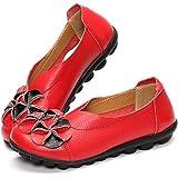 gracosy Donne Mocassini da Donna Primavera/Estate Vintage Fiori Fatto A Mano Pelle Scarpe Stile Loafers Comode Slip On Scarpe